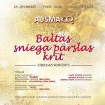 """Sieviešu kora """"Ausma"""" 60 gadu jubilejas koncerts """"Baltas sniega pārslas krīt..."""""""