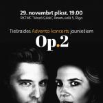 """Adventa koncerts jauniešiem """"Op.2"""""""